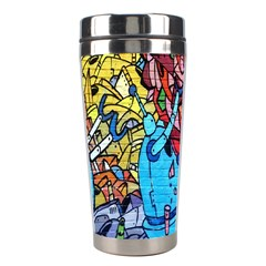 Colorful Graffiti Art Stainless Steel Travel Tumblers