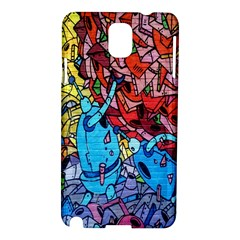 Colorful Graffiti Art Samsung Galaxy Note 3 N9005 Hardshell Case