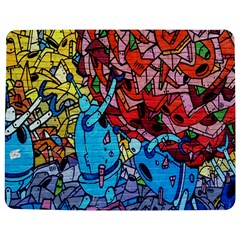 Colorful Graffiti Art Jigsaw Puzzle Photo Stand (Rectangular)