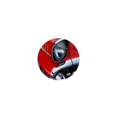 Classic Car Red Automobiles 1  Mini Buttons