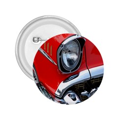 Classic Car Red Automobiles 2.25  Buttons