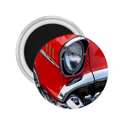 Classic Car Red Automobiles 2.25  Magnets