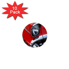 Classic Car Red Automobiles 1  Mini Buttons (10 Pack)
