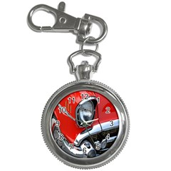 Classic Car Red Automobiles Key Chain Watches