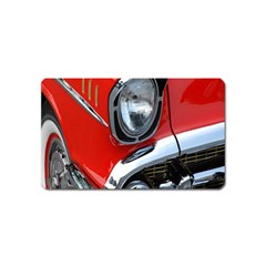 Classic Car Red Automobiles Magnet (name Card)