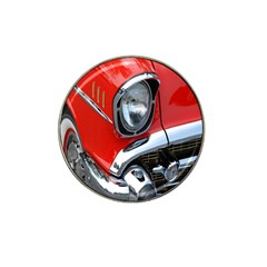 Classic Car Red Automobiles Hat Clip Ball Marker (10 pack)