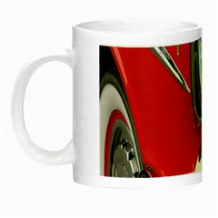 Classic Car Red Automobiles Night Luminous Mugs