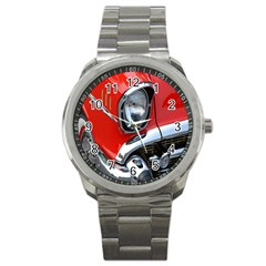 Classic Car Red Automobiles Sport Metal Watch