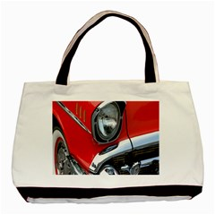 Classic Car Red Automobiles Basic Tote Bag