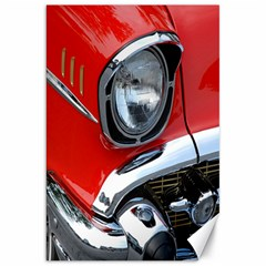 Classic Car Red Automobiles Canvas 20  x 30