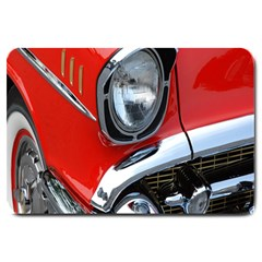 Classic Car Red Automobiles Large Doormat