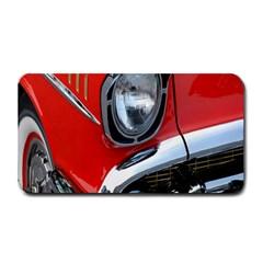 Classic Car Red Automobiles Medium Bar Mats