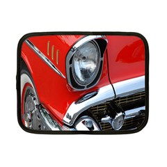 Classic Car Red Automobiles Netbook Case (Small)