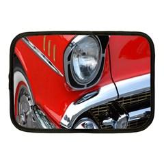 Classic Car Red Automobiles Netbook Case (Medium)