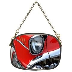 Classic Car Red Automobiles Chain Purses (Two Sides)