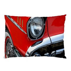 Classic Car Red Automobiles Pillow Case
