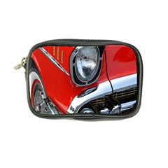 Classic Car Red Automobiles Coin Purse