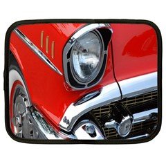 Classic Car Red Automobiles Netbook Case (xl)