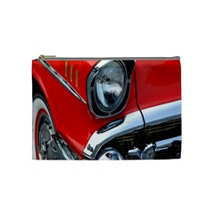 Classic Car Red Automobiles Cosmetic Bag (Medium)