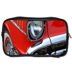 Classic Car Red Automobiles Toiletries Bags