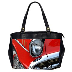 Classic Car Red Automobiles Office Handbags (2 Sides)