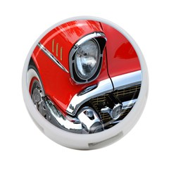 Classic Car Red Automobiles 4-Port USB Hub (Two Sides)