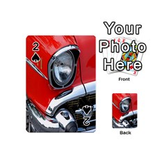 Classic Car Red Automobiles Playing Cards 54 (Mini)