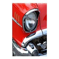 Classic Car Red Automobiles Shower Curtain 48  x 72  (Small)