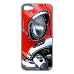 Classic Car Red Automobiles Apple Iphone 5 Case (silver)