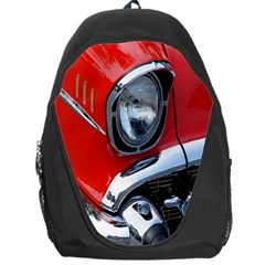 Classic Car Red Automobiles Backpack Bag