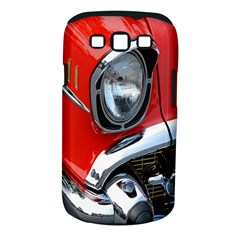 Classic Car Red Automobiles Samsung Galaxy S Iii Classic Hardshell Case (pc+silicone)