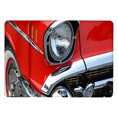 Classic Car Red Automobiles Samsung Galaxy Tab 10.1  P7500 Flip Case