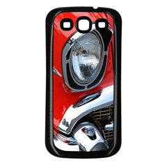 Classic Car Red Automobiles Samsung Galaxy S3 Back Case (black)