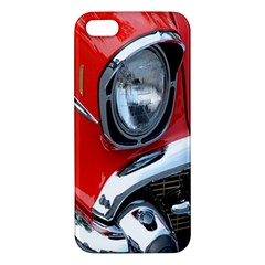 Classic Car Red Automobiles Iphone 5s/ Se Premium Hardshell Case