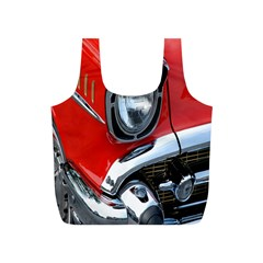 Classic Car Red Automobiles Full Print Recycle Bags (s)