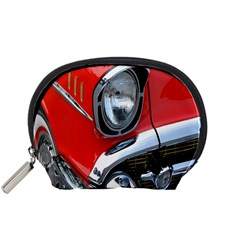 Classic Car Red Automobiles Accessory Pouches (small)