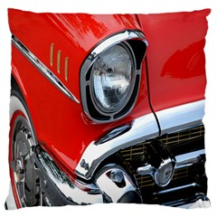 Classic Car Red Automobiles Large Flano Cushion Case (one Side)