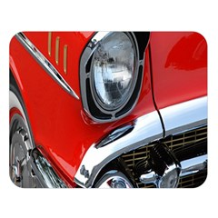 Classic Car Red Automobiles Double Sided Flano Blanket (large)