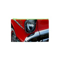 Classic Car Red Automobiles Cosmetic Bag (XS)