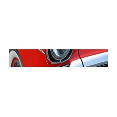 Classic Car Red Automobiles Flano Scarf (mini)
