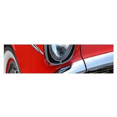 Classic Car Red Automobiles Satin Scarf (oblong)