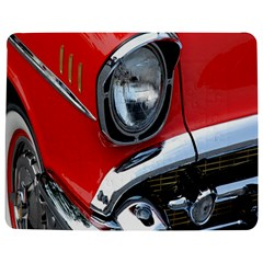 Classic Car Red Automobiles Jigsaw Puzzle Photo Stand (Rectangular)