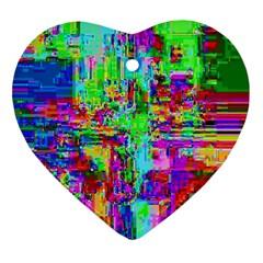 Compression Pattern Generator Ornament (heart)