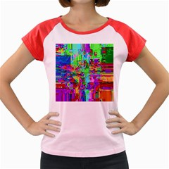 Compression Pattern Generator Women s Cap Sleeve T-Shirt