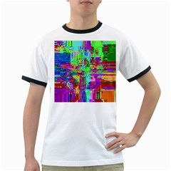 Compression Pattern Generator Ringer T-Shirts