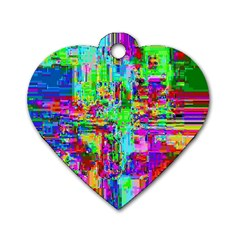 Compression Pattern Generator Dog Tag Heart (Two Sides)