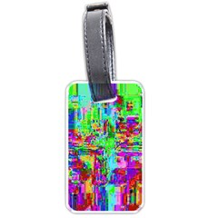 Compression Pattern Generator Luggage Tags (One Side)
