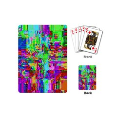 Compression Pattern Generator Playing Cards (mini)