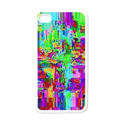Compression Pattern Generator Apple iPhone 4 Case (White)