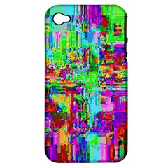 Compression Pattern Generator Apple iPhone 4/4S Hardshell Case (PC+Silicone)